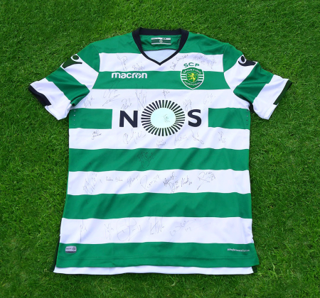 Jersey by Sporting CP signed by entire team - Taça CTT Final Four