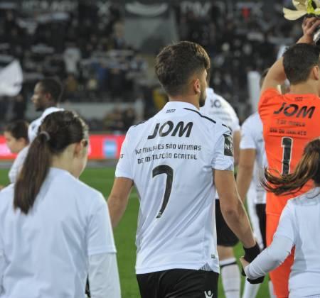 Camisola oficial do jogo Vitória SCxCF Belenenses - Francisco Ramos 7
