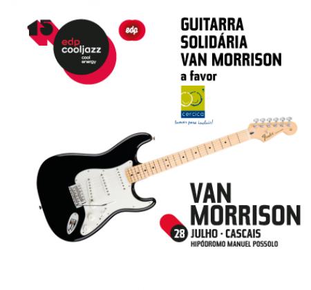 Guitar signed by Van Morrison - EDPCOOLJAZZ