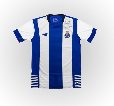 FC Porto autographed football shirt by President Pinto da Costa