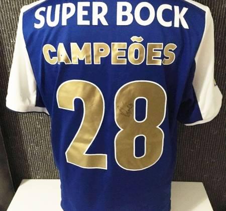 Camisola do campeão nacional FC Porto autografada por Vaná