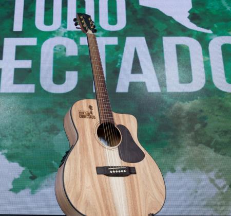 Guitarra feita com madeira de florestas queimadas de Portugal - 2