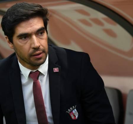 Abel Ferreira's tie (SC Braga manager)