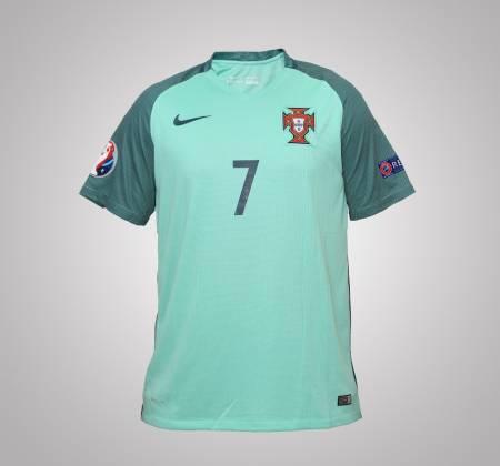 Camisola de Cristiano Ronaldo da Seleção Nacional do Euro 2016