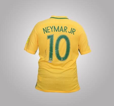 Camisola de Neymar JR da Seleção Brasileira