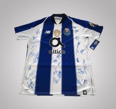 Camisola do FC Porto autografada pelo plantel