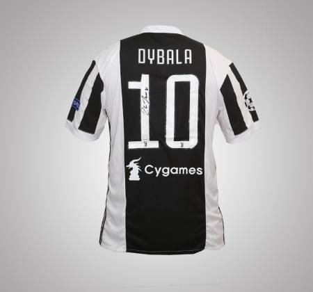 Juventus Dybala jersey, autographed by the player