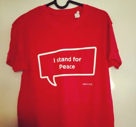 T-shirt - I stand for peace