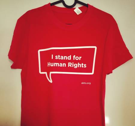 T-shirt - I stand for human rights