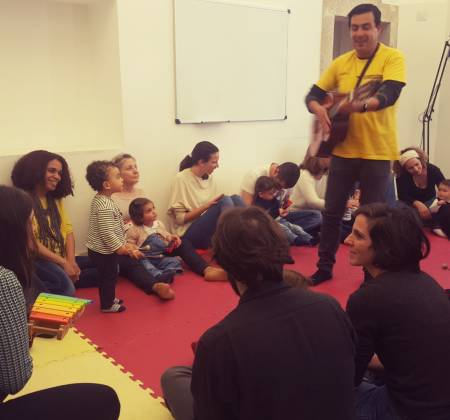 Vale-oferta - Sessão de Música para Bebés