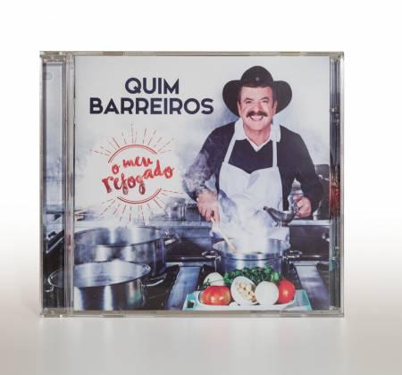 CD + 2 tshirts de Quim Barreiros
