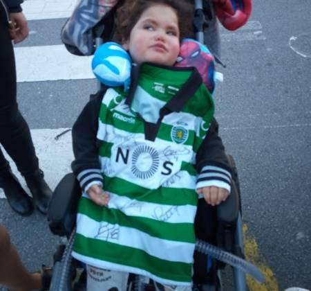 Camisola de criança do Sporting Clube de Portugal