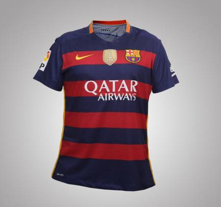 FC Barcelona Messi's jersey, autographed by the player