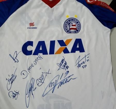 Camisa do Esporte Clube Bahia