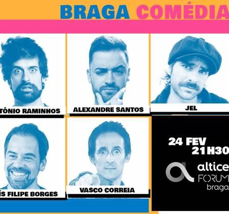 Bilhete duplo com jantar com Raminhos, Borges, Alexandre, Jel e Vasco