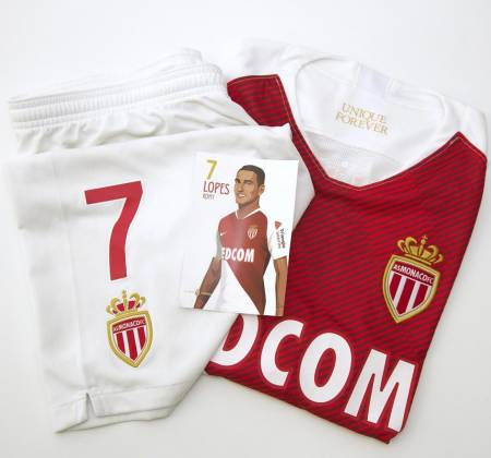 Equipamento de Rony Lopes do AS Mónaco FC