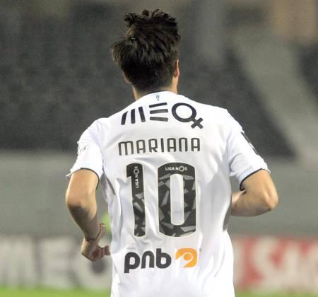 Camisola de João Teixeira do Vitória SC usada em jogo