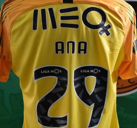 Rio Ave FC jersey worn by Paulo Vítor at a game