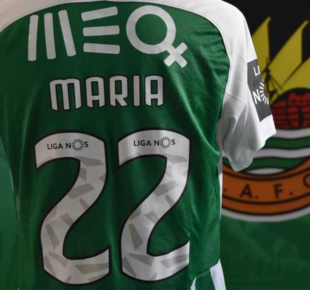 Rio Ave FC jersey worn by Nadjack at a game