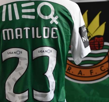 Camisola de Nikola Jambor do Rio Ave FC usada no jogo