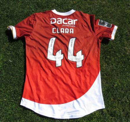 CD Aves jersey worn by Diego Galo at a game