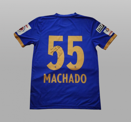 Camisola de Machado do Mumbai City FC da Índia