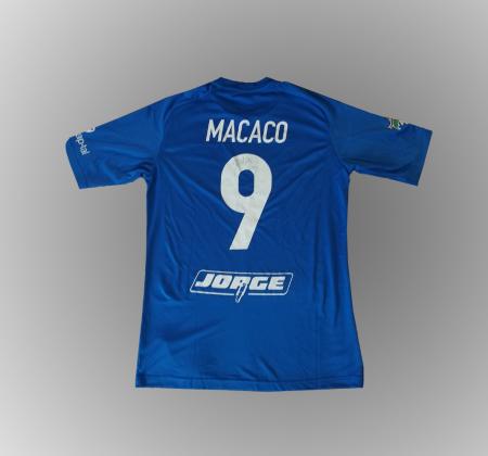 Clube Futebol Canelas Fernando Madureira's jersey signed by the squad