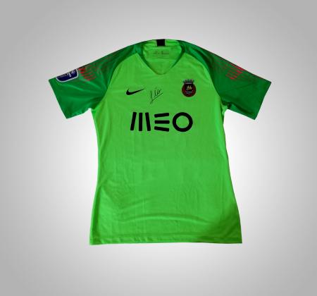 Camisola de Léo Jardim do Rio Ave FC, autografada pelo jogador