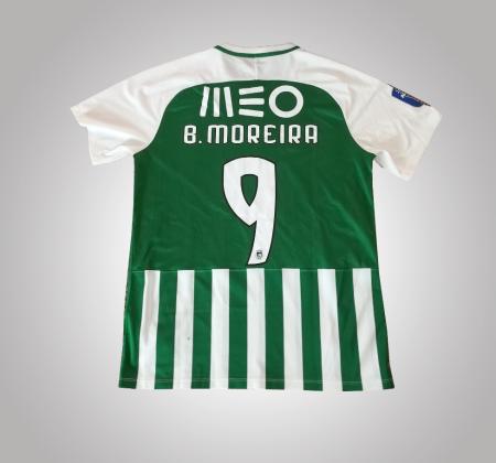 Camisola de Bruno Moreira do Rio Ave FC, autografada pelo jogador