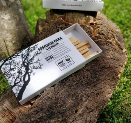 Matchbox from the ANP|WWF's Fósforos para a Floresta exclusive edition