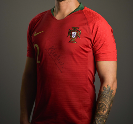 Portugal Futsal jersey autographed by André Coelho