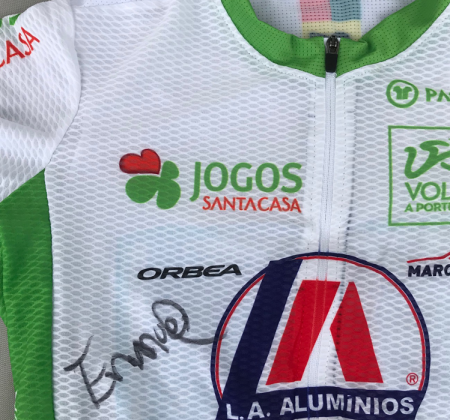 Juventude jersey signed by Emanuel Duarte from 81 Volta a Portugal