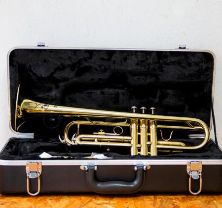 Trompete autografado por Timmy Trumpet