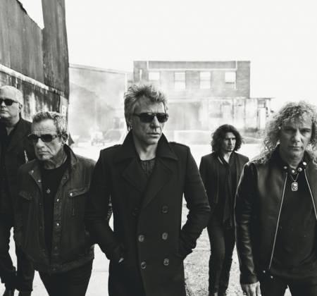 Guitarra autografada pelo Bon Jovi no Rock in Rio 2019