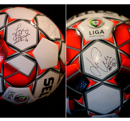 Ball signed by the Liga Portugal Ambassadors
