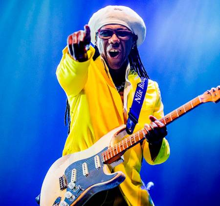 Biografia autografada do Nile Rodgers: Le Freak no Rock in Rio 2019