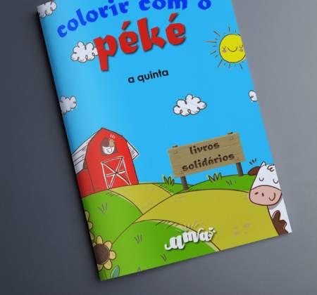 Livros Solidários para colorir
