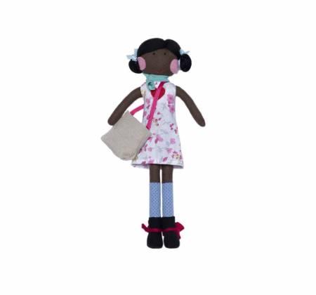 Boneca Zaia da coleção solidária