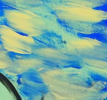 Obra de Ligia Romano intitulada 'Cavalo', de 2012