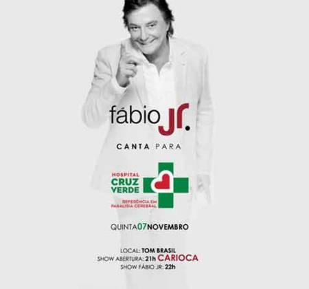 4 lugares VIP para o show do Fábio Jr com visita ao camarim