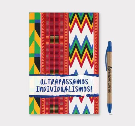 Caderno Colecionável + Caneta: Ser Voluntário