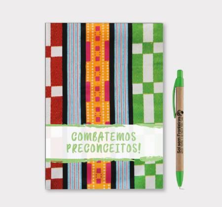 Caderno Colecionável + Caneta: Educar