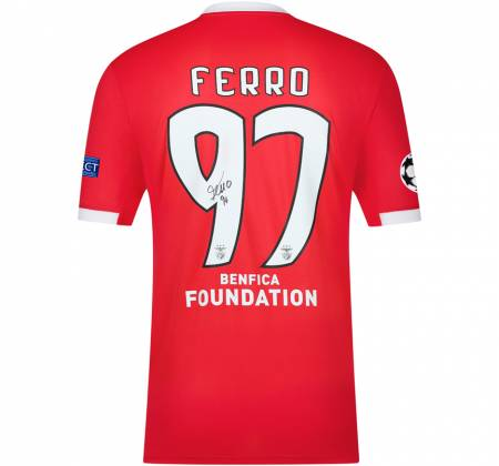 Jersey signed by Ferro from SL Benfica