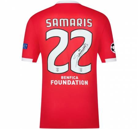 Camisola de Samaris autografada pelo jogador