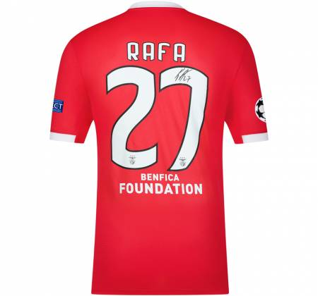 Jersey signed by Rafa from SL Benfica
