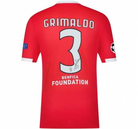 Jersey signed by Grimaldo from SL Benfica