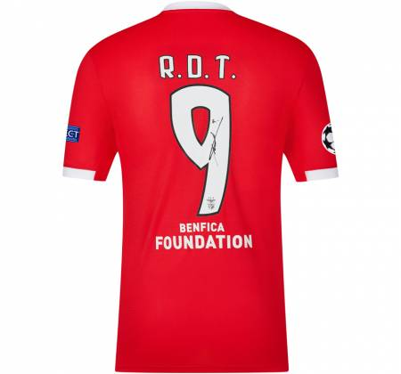 Jersey signed by R.D.T. from SL Benfica