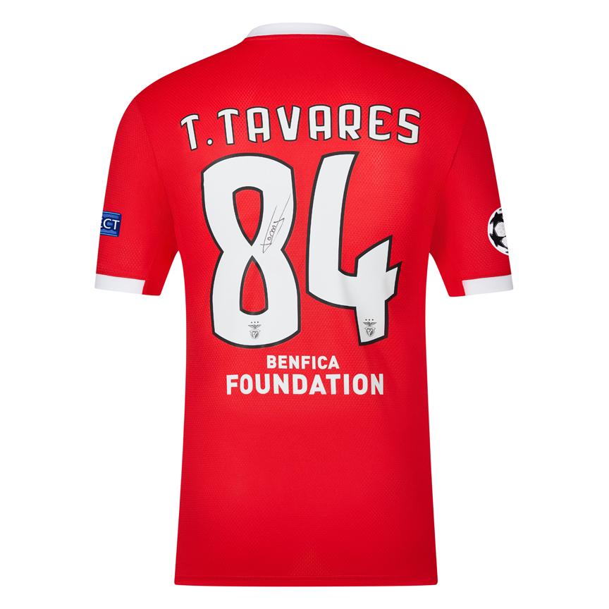 Camisola de T. Tavares autografada pelo jogador