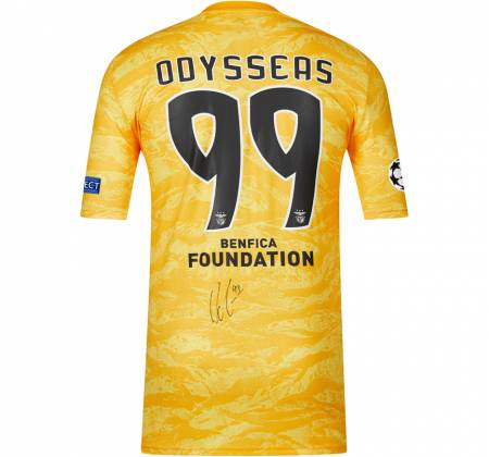 Jersey signed by Odysseas from SL Benfica
