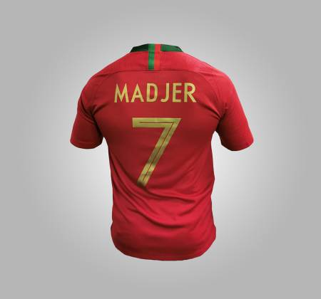 Portugal National Team Madjer official jersey